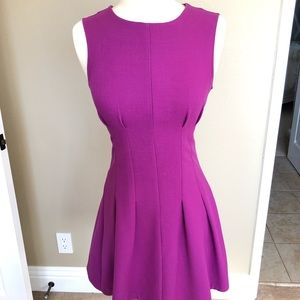 Topshop fitted flare dress, size 4
